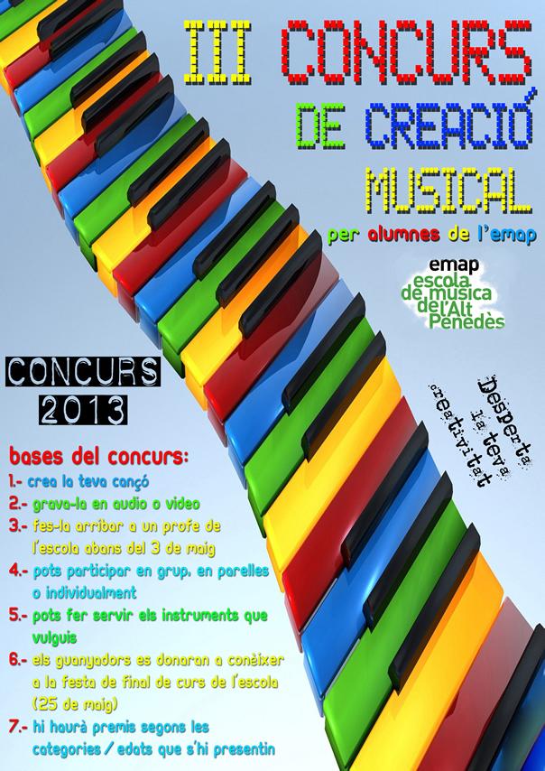 cartell concurs 2013petit