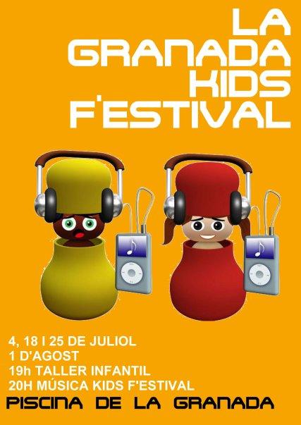 CARTELL LA GRANADA KIDS F'ESTIVAL
