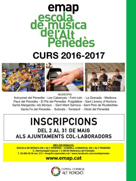 CARTELL CURS 16-17